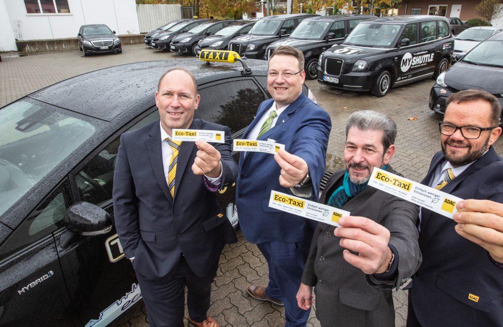 Taxi Karlsruhe wird durch den ADAC Karlsruhe als Eco Taxi Unternehmen zertifiziert.
